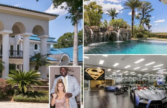NBA legend Shaquille O'Neal selling £21million Orlando mansion, complete with 12 bedrooms and even its own basketball court