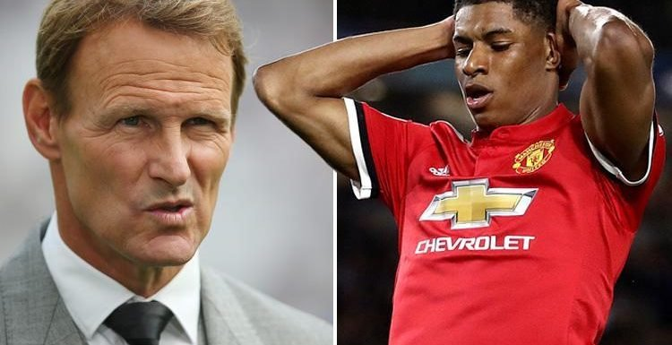 Teddy Sheringham suggests Marcus Rashford won't fully develop under Jose Mourinho and should leave Manchester United