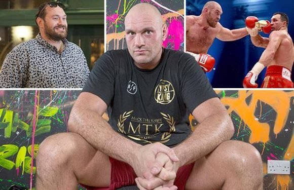 Tyson Fury admits boxing became 's***'… but now he's going to enjoy himself