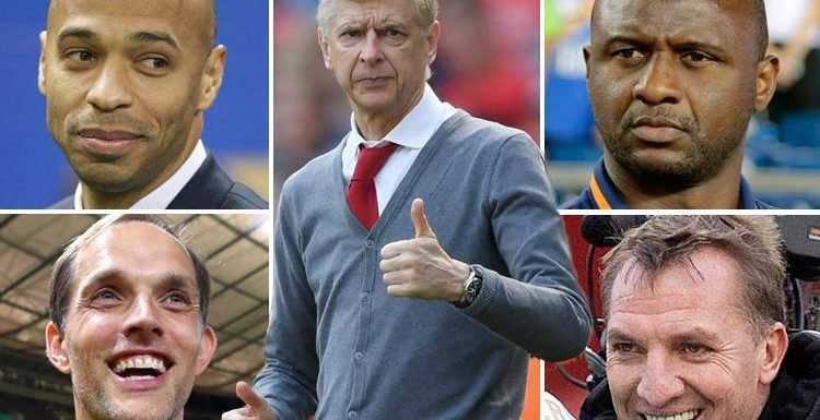 Arsenal's 14-man shortlist to replace Arsene Wenger including Massimiliano Allegri, Joachim Low and Thierry Henry
