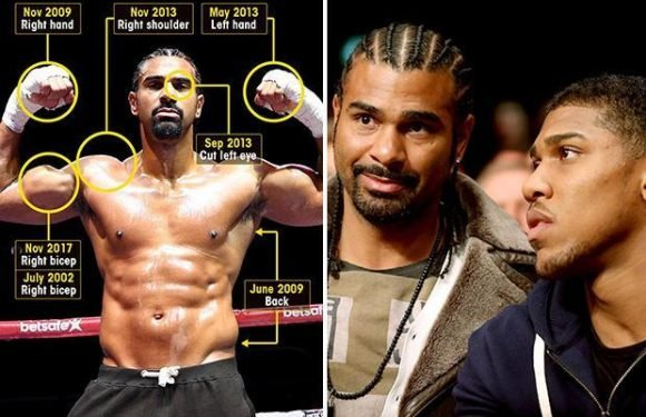 Haye vs Bellew 2: Anthony Joshua aiming to take on David Haye in world heavyweight superfight — as Hayemaker counts cost of his incredible injury record