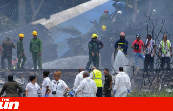 Havana plane crash – '110 killed as three survivors pulled from wreckage' in Cuba as Boeing 737 explodes moments after takeoff