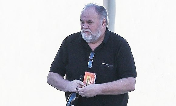 Meghan Markle's Dad Spotted For 1st Time Since Skipping Wedding: In Good Spirits On Coffee Run
