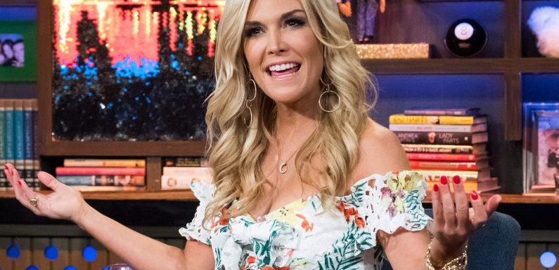 Tinsley Mortimer flustered when grilled about boyfriend paying rent