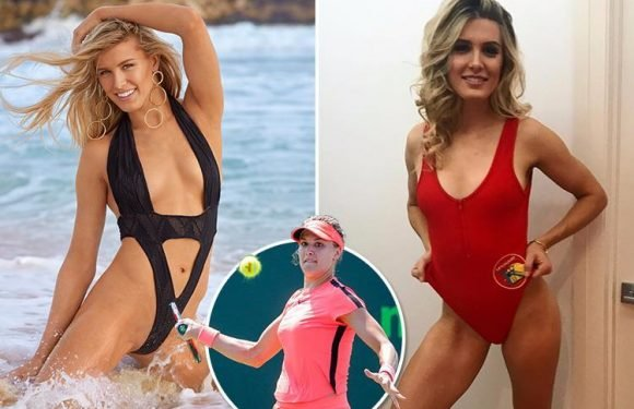 Tennis star Genie Bouchard serves up an ace in racy swimwear shoot in the Caribbean
