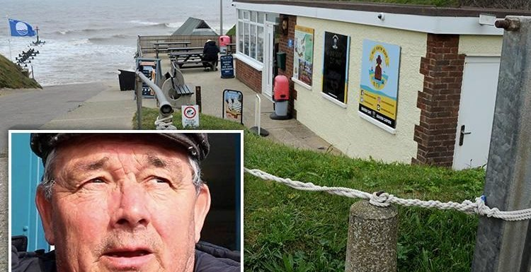 Crabby fisherman trolled seaside cafe owners online for their 'London ways'