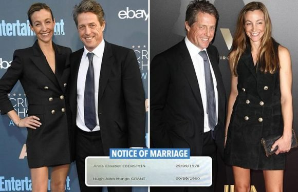 Hugh Grant is finally getting married at 57 – to his Swedish girlfriend, 39