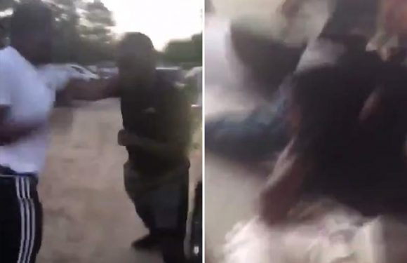 Horrifying moment Facebook Live fistfight turns into a gun battle leaving two teens injured