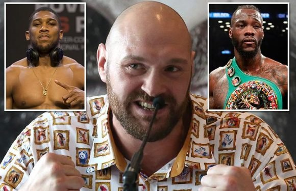 Tyson Fury 'can't lose' as he plots to face winner of Anthony Joshua vs Deontay Wilder