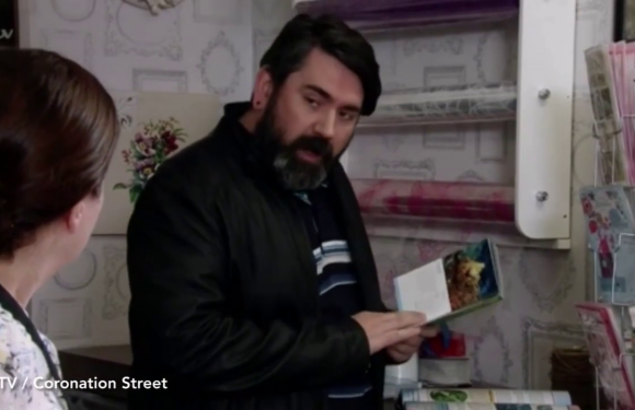 Coronation Street fans spot Eastenders legend making a surprise appearance in the soap as Jude's fake work colleague