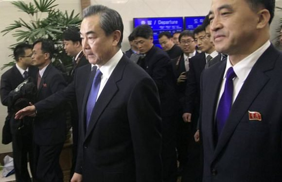 Kim Jong-un meets China's foreign minister in North Korea