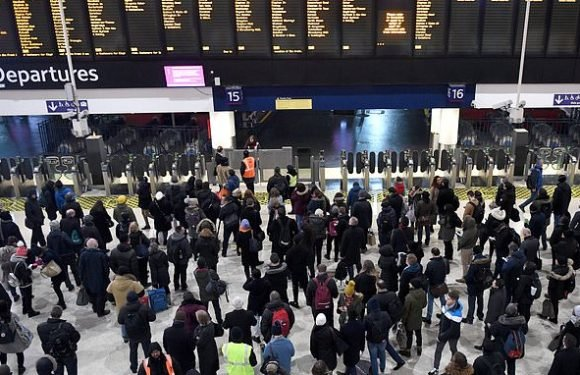 Rail chaos strikes on first day of new nationwide timetable