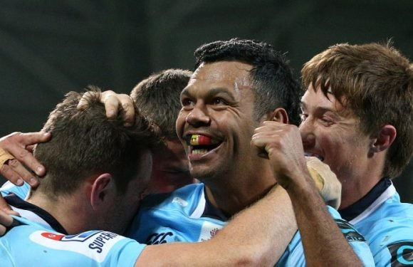 Waratahs in box seat to play Super Rugby finals with 31-26 win over Rebels