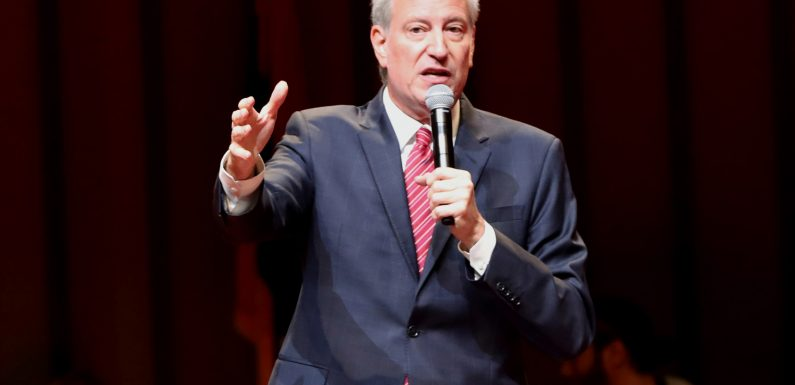 De Blasio calls plan to scrap high school admission tests 'blessed'