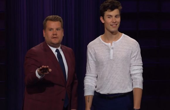 Shawn Mendes Hijacks 'Late Late Show' Monologue — And James Corden Isn't Having It