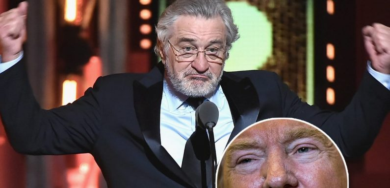 Robert De Niro's 'F-ck Trump' Met With Media Backlash: 'Helps Trump,' 'Lowlight of the Evening,' 'Gross'