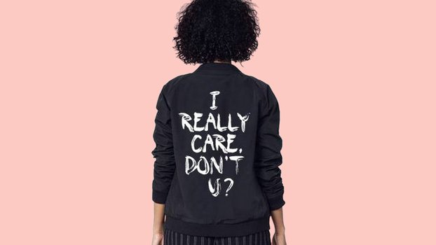 "This Brand Created an ""I Really Care"" Jacket in Response to Melania Trump"