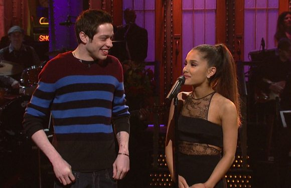20 Pics Of Ariana Grande's 24-Day Relationship Turned Engagement