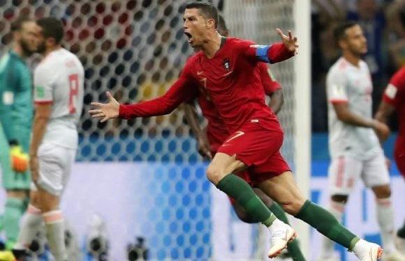 Ronaldo hat-trick earns Portugal draw with Spain in thriller