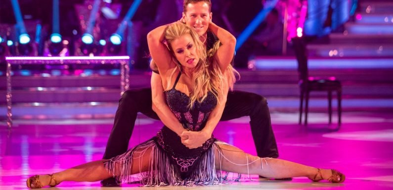 Anastacia kept in touch with most of Strictly cast – except partner Brendan Cole