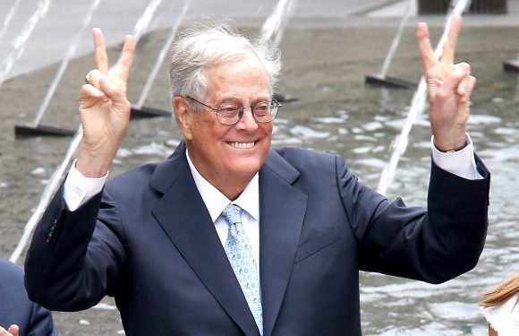 David Koch says he's retiring with health in decline