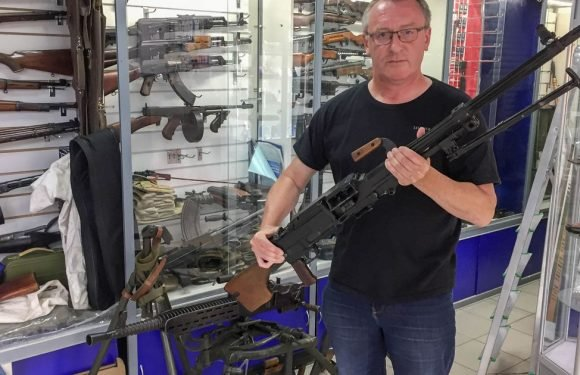 World Cup fans can buy machine guns 'no question asked' in Russian shops