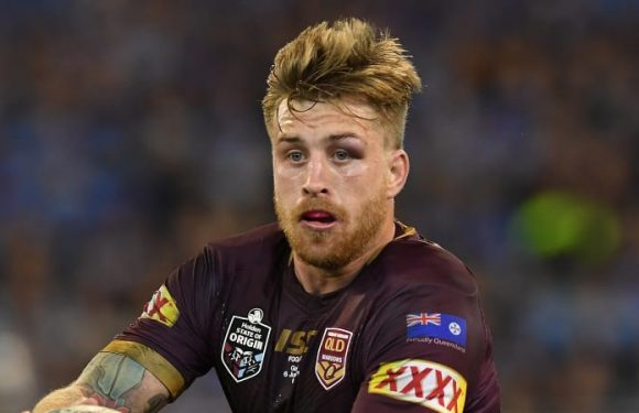Cameron Munster reveals swollen eye caused vision problems in Origin I