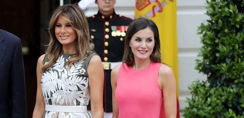 Melania Trump Met Queen Letizia and Their Closets Already Share Some Similarities