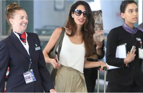 Amal Clooney's Travel Shoes Make the Destination Seem a Hop, Skip, and a Jump Away