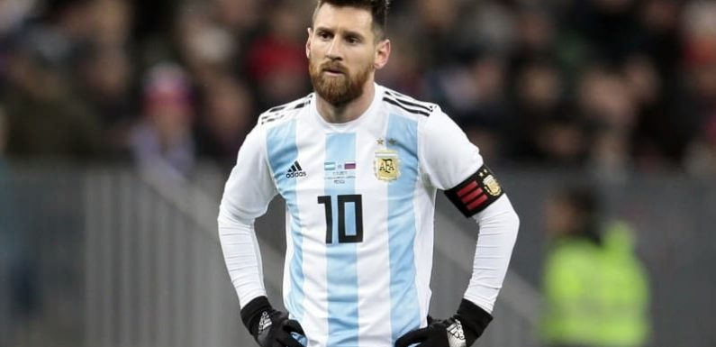 Messi carrying Argentina with 'a revolver put to his head'