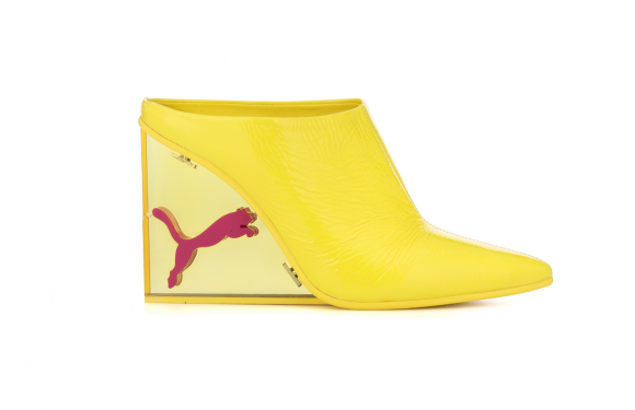 Fenty Puma Mule Wedges Exist & Athlesuire Never Looked So Chic