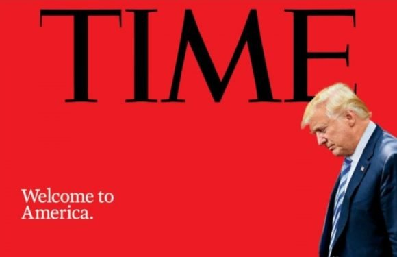 Time magazine cover puts immigration crisis at Trump's feet