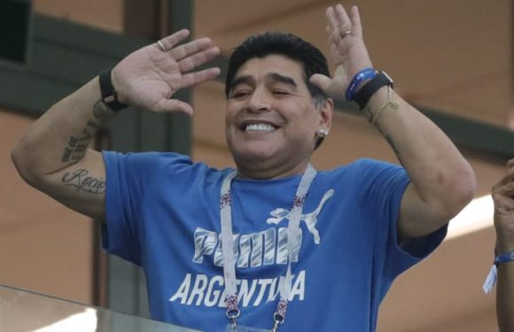 'I want to tell everyone that I am fine:' Maradona downplays health scare during dramatic win