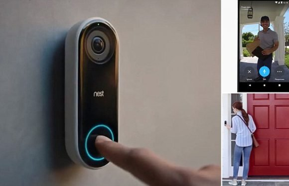 Google launches video doorbell in the UK that uses facial recognition