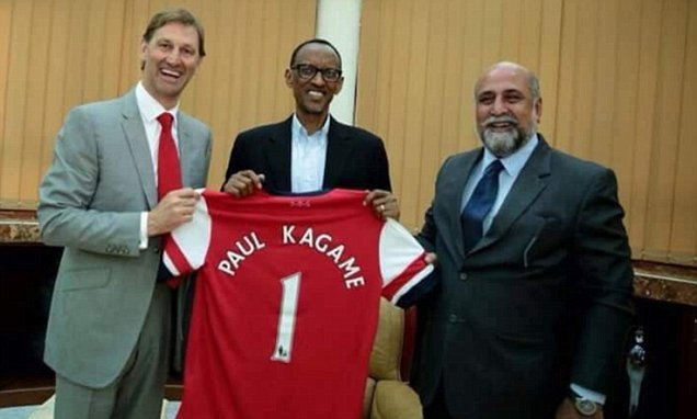 Foreign aid in question after Rwanda sponsors Arsenal for £30m