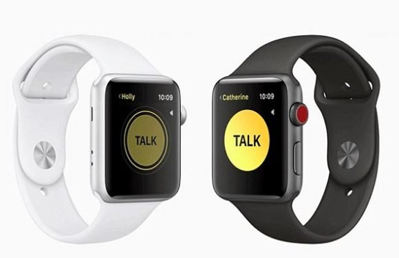 Apple launches a walkie talkie! Watch app will let you talk to friends