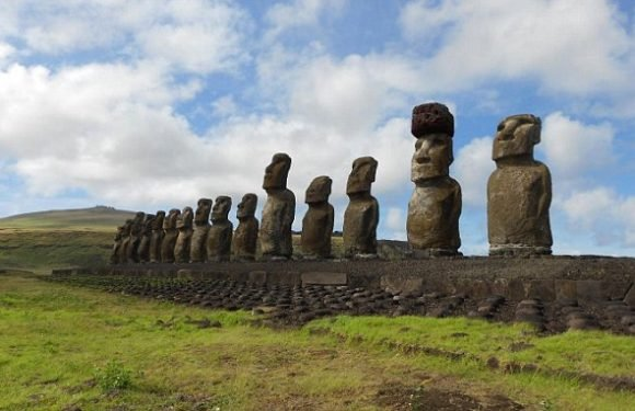 REVEALED: How Easter Islanders put giant hats on famous statues