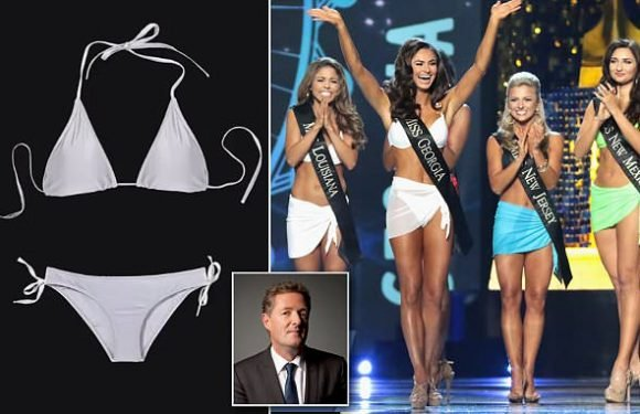 PIERS MORGAN: Miss America's announcement is the nail in the coffin