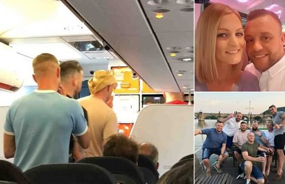 EasyJet Prague stag party 'urinated on toilet floor' says passenger