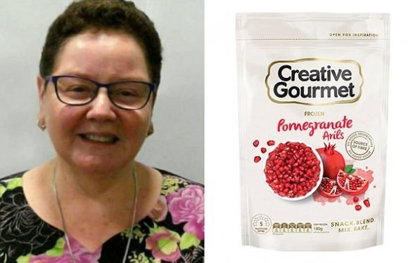 Pictured: Woman who died after eating frozen pomegranate seeds