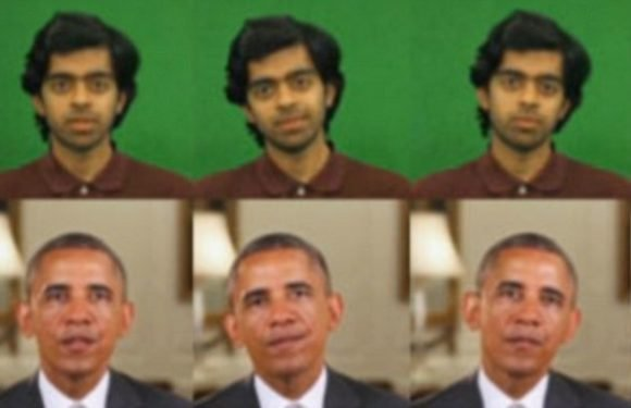 Can YOU tell which one is real? Creepy AI swaps facial expressions