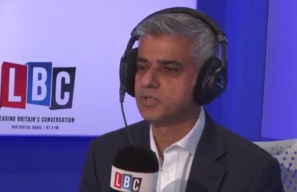 Sadiq Khan admits he's responsible for London's surge in violent crime