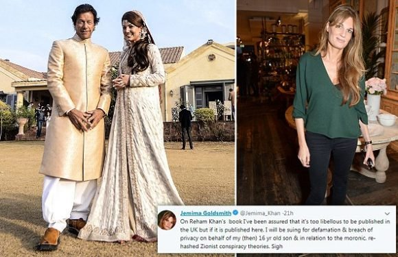 Jemima Goldsmith threatens to sue Imran Khan's second wife over book