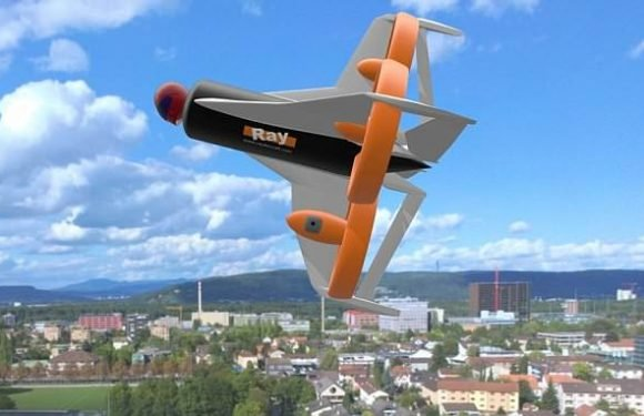 Would YOU fly head first in a drone? Terrifying concept revealed