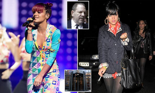 Lily Allen says she was abused but her record label hushed it up
