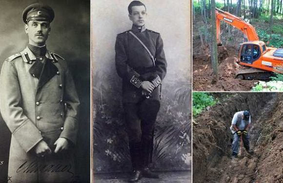 Excavation underway to find graves of Mikhail Romanov and his Brit aid