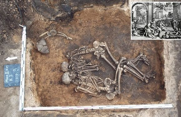 Bubonic plague started in the Bronze Age