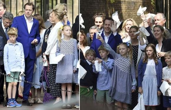 Tom Parker-Bowles and wife united at Trooping The Colour after 'split'