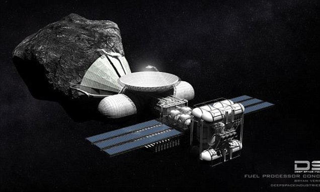 Mining asteroids 'could earn everyone on Earth £75 billion', says Nasa