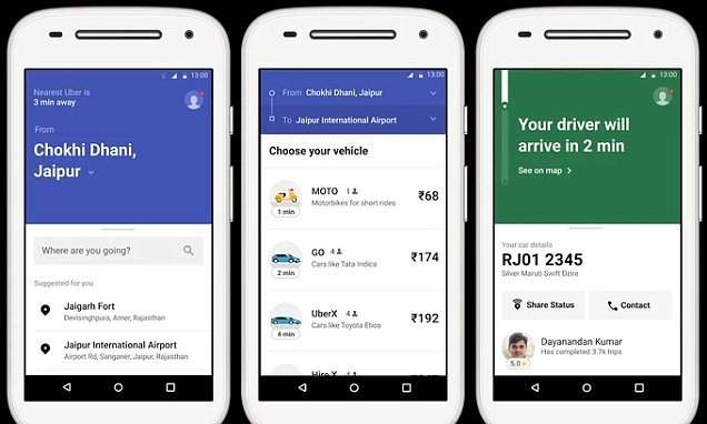 Uber Lite is a slimmed down Uber app designed for emerging markets